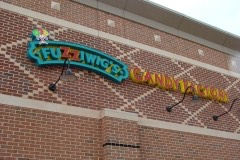 Fuzziwigs Candy Factory sideview