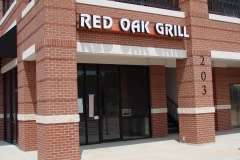 Red Oak Grill Sugar Creek profile view