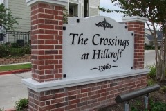 The Crossings at Hillcroft side view