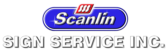 Scanlin Signs Sticky Logo