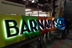 Barnaby's - lighted in shop 2