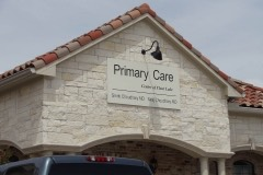 Primary Care 2 - sign foam panel