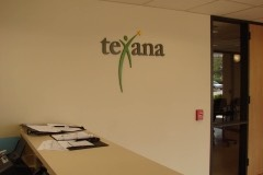 Texana wall logo